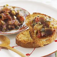 Slow Cooker Eggplant Caponata
