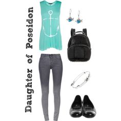 """Daughter of Poseidon: Cabin 3"" by xylophobian on Polyvore"