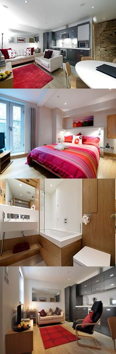 These St Albans serviced apartments are housed within a converted warehouse in a small gated development, a 15 minute walk from St Albans railway station and 11 miles from London Luton Airport. Here are St Peters Mews apartments, Centre, St Alban's
