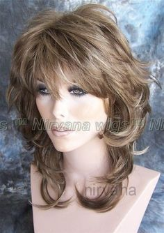 Shoulder Length Flicked Layers Nirvana Angie Wig | Health & Beauty, Hair Care & Styling, Hair Extensions & Wigs | eBay!