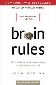 Brain Rules by John Medina. If workplaces had nap rooms, multi-tasking was frowned upon, and meetings were held during walks, we'd be vastly more productive. Brain Rules reveals - in plain English - 12 ways our brains truly work.