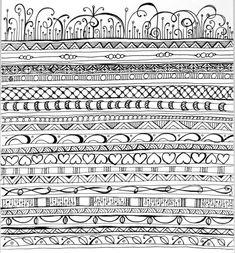 zen+doodles+pattern | Zenspirations - Gallery - Playful Patterns