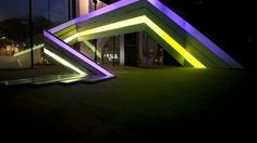 Lightrails. The interactive audio-visual installation 'Lightrails' was a project that Strukt created together with unheilbar architektur for...