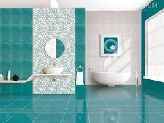 Momenti Colorful Interior Design, Colorful Decor, Colorful Interiors, Bathroom Design Luxury, Bathroom Design Small, Indian House Plans, Cute Apartment, Bathroom Plans, Indian Homes