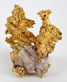 Gold & Quartz from California