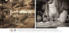 c.1939 - Wizard of Oz - Farm Scene, and Castle Scene.
