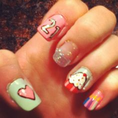 Mom-in-law is taking me to get my nails done for my 21st birthday, ideas :)