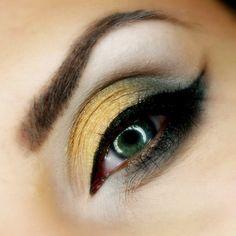 makeup, makijaż wieczorowy, makijaż złoto szarość, makijaż dla brunetki, makeup geek, pupa cosmetics, makeup art, maxineczka,glamouria, alin...