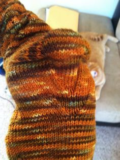 Double Gusset Heel from Turtlegirl (makes for a mighty comfy, foot-hugging sock!)