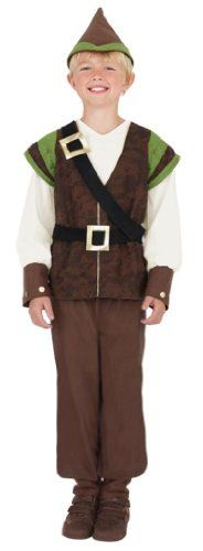 Robin Hood Costume includes Top, Trousers and Hat (Medium) Smiffy's http://www.amazon.co.uk/dp/B00501J2SU/ref=cm_sw_r_pi_dp_H94Vub1W4TDY5