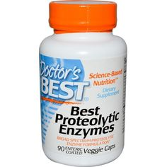 Buy Doctor's Best Proteolytic Enzymes,90 Enteric Coated Caps at Megavitamins supplement  Australia,Discount on volume available. Learn more - where to buy and what are the pros & cons Best Proteolytic Enzymes.