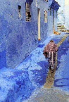 Marruecos : la ciudad azul de Chefchaouen