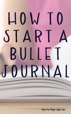 Learn how to start a bullet journal even if you're not artistic.  Bullet journals are the ultimate planner and allow flexibility to meet your planning needs.  Bullet journaling changed my life!  Collections and lists help me stay organized. #bulletjournal #bujo #planner