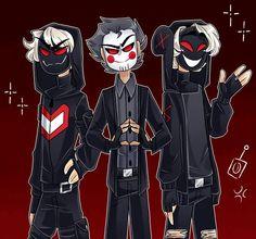 Creepypasta, Chibi, Character Art, Character Design, Game Logo Design, Bear Makeup, Fanart, Best Youtubers, Ship Art