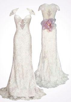 Claire Pettibone - Couture Bridal l Wedding Dresses, Bridal Gowns, Fashion Designer, Veils, Accessories
