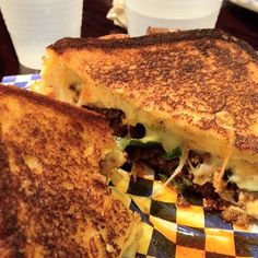 The Tradicion   at Cheesie's Pub & Grub in Chicago, IL   Cheesie's Pub & Grub958 W. Belmont Ave Chicago, IL United States   Chihuahuah Cheese, Chorizo Sausage, and Fresh Jalapeno Peppers on Texas Toast. Dip Sauce: Spicy Chipotle Mayo.