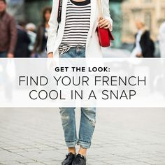 Find Your French Cool in a Snap on shopstyle.com
