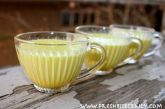 """""""Golden Milk"""" — A Turmeric Beverage to Fight Colds, Flu, and Even Depression"""
