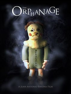 The Orphanage, horror, movie, poster, art
