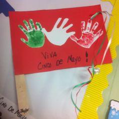 Cinco De Mayo handprints