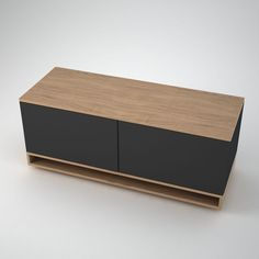 This smaller version of our Low Contemporary Sideboard, Harlem is characterised by its sleek leg feature. the smaller size version with 2 push release doors is ideal for spaces such as alcoves.  NB:Rear cable management holes are available on request.  Size: 1000mm or 1200mm Wide. 455mm Deep x 485mm high Bespoke sizes available on request – please contact us with your requirements.