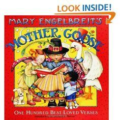 Mary Engelbreit's Mother Goose: One Hundred Best-Loved Verses: Mary Engelbreit: 9780060081713: Amazon.com: Books