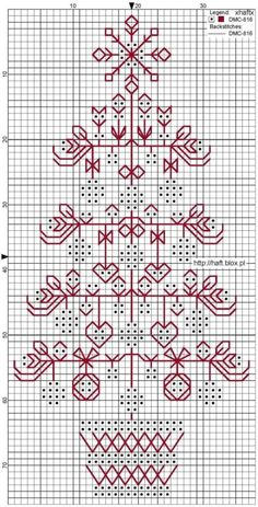 its a site in Polish and it has such a pretty free pattern; beautifully finished as a bookmark, but would make a lovely ornament.