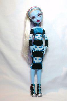 Monster High Goth Skull Dress
