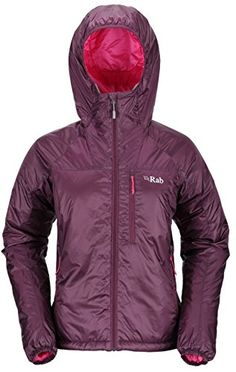 Rab Xenon X Hoodie  Womens Aubergine 10 -- For more information, visit image link.(This is an Amazon affiliate link and I receive a commission for the sales)
