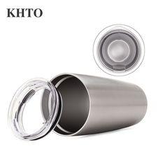KHTO 20oz Slim Cruiser Tumbler Vacuum Insulated Double Walled 18 8 Stainless Steel Hydro Travel Mug. Click visit to buy #Mug