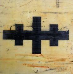 Encaustic painting by Kim Ionesco