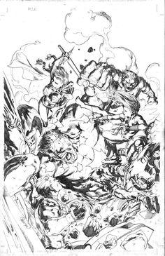 Hulk #614 by Carlo Pagulayan *