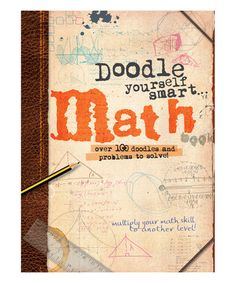 Another great find on #zulily! Doodle Yourself Smart Math Paperback Book #zulilyfinds