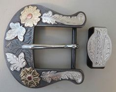 "Item 008109 - New Handmade DON ROGERS 1 ½"" Belt Buckle - Must Fish Western Tackle - Picasa Web Albums"