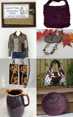 Coffee coloured Gifts by Sally Grayson on Etsy--Pinned with TreasuryPin.com