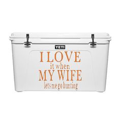 Yeti Cooler Decal // Yeti Decal // Hunting by WMCreationsShop