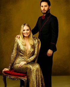 Margot and Jared Leto