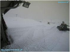 Neve sugli impianti Monterosa Ski