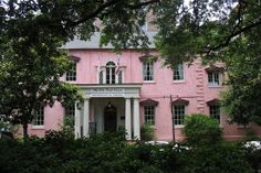 The Olde Pink House: Savannah, GA