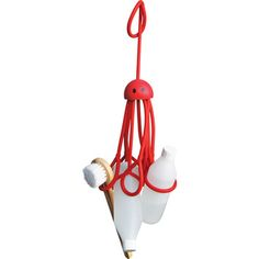 Formverket shower caddy octopus - brilliant for #traveling!