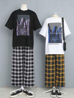 Fashion Couple, Cute Fashion, Vogue Fashion, Fashion Outfits, Ulzzang Fashion, Harajuku Fashion, Classic Outfits, Cool Outfits, Matching Couple Outfits