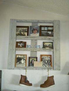 Pallet picture shelf (DIY)