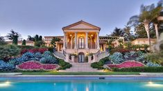 Palladian Style Home Offers Classical European Architecture and Breathta... #LuxuryBeddingOceanViews