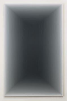 Wang Guangle (b.1976) - '120403' (2012)  Acrylic on canvas, 9 ft 2.25 x 5 ft 10.875 in. via Pace Gallery