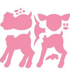 Boutique scrapbooking - Die BigShot Marianne Design die bambi