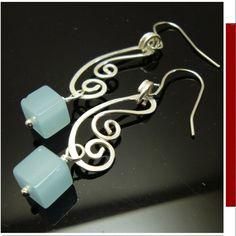 Cube wirework earrings id1070139