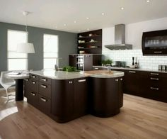 Modern Home Kitchen Design Awesome Brown Kitchen Cabinet Ideas