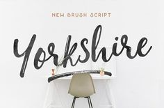 Yorkshire (Intro Rate) by Hustle Supply Co. on @creativemarket