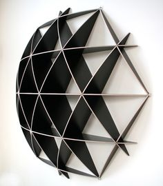 Small COMB Shelving Sphere from Borealis LCC | Made By Jaanus Orgusaar / Borealis Ltd | £275.00 | BOUF