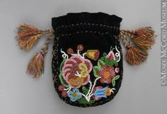 Metis Tobacco Bag, 1875-1900.
